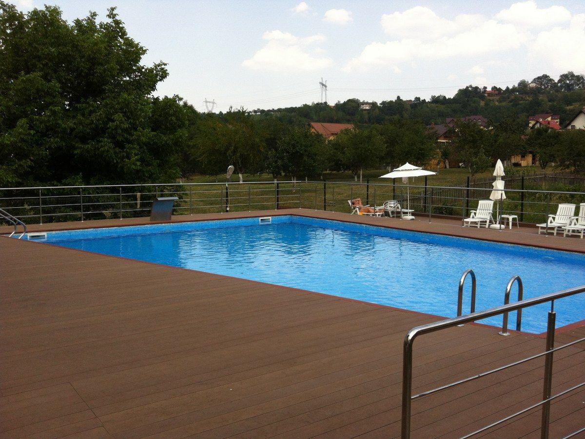 Renovare cu liner bran brasov holiday villas hotel for Aqua piscine