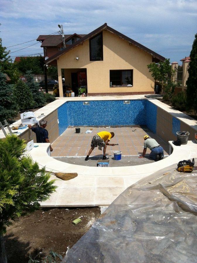 Constructia piscinei margarita chiajna dudu ilfov for Construim piscine