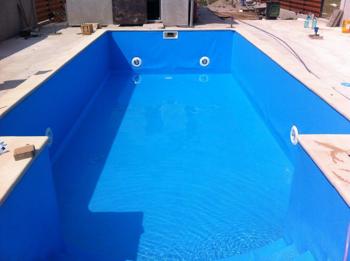 Renovare cu liner bolintin deal giurgiu for Liner piscine diametre 3 50