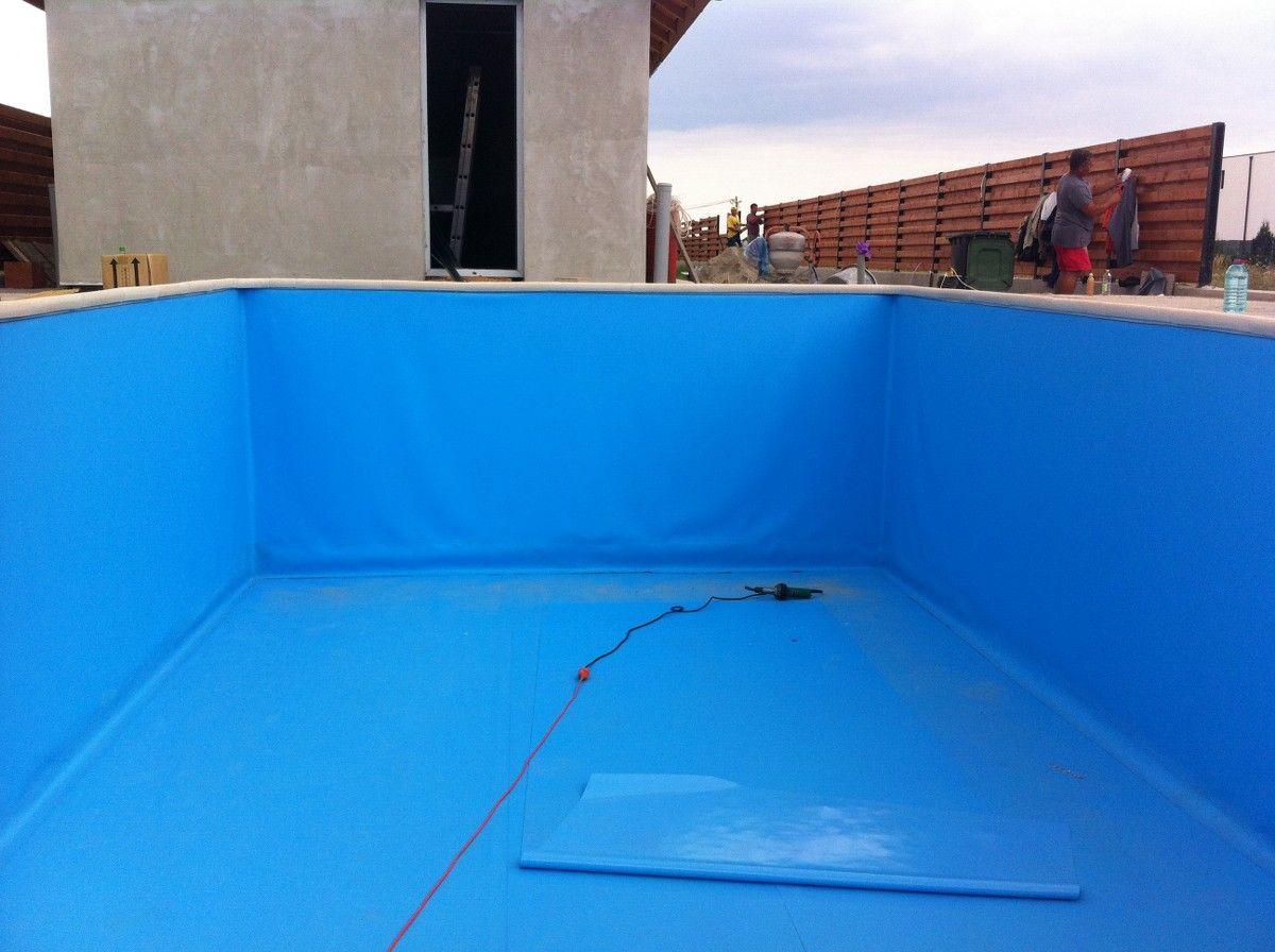 Renovare cu liner bolintin deal giurgiu for Liner piscine diametre 5 50