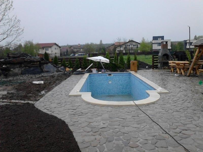 Constructia piscinei margarita corbeanca ilfov for Constructii piscine romania