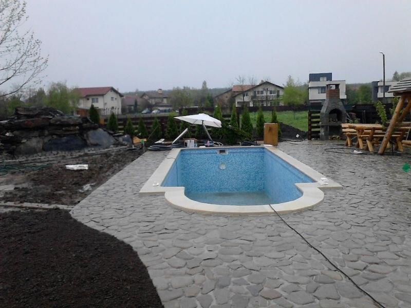 Constructia piscinei margarita corbeanca ilfov for Construim piscine