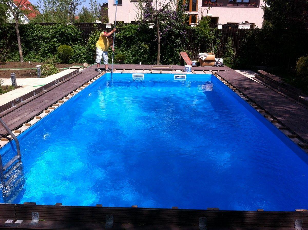Renovare cu liner pipera bucuresti for Constructii piscine romania