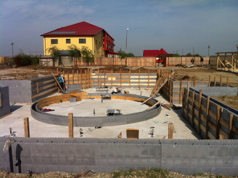 Constructia piscinei mihailesti giurgiu piscina for Piscine ker aqua