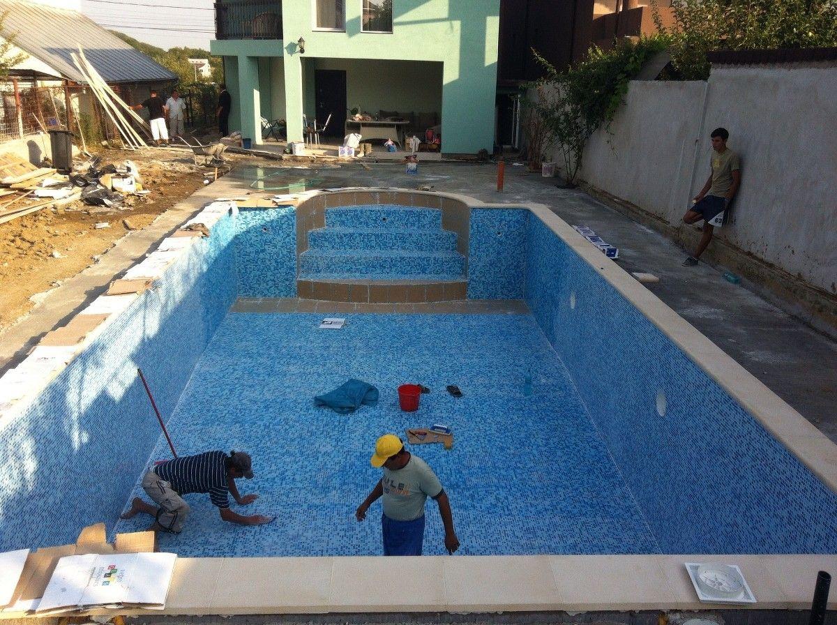 Constructia piscinei margarita targoviste dambovita for Aqua 2000 piscine