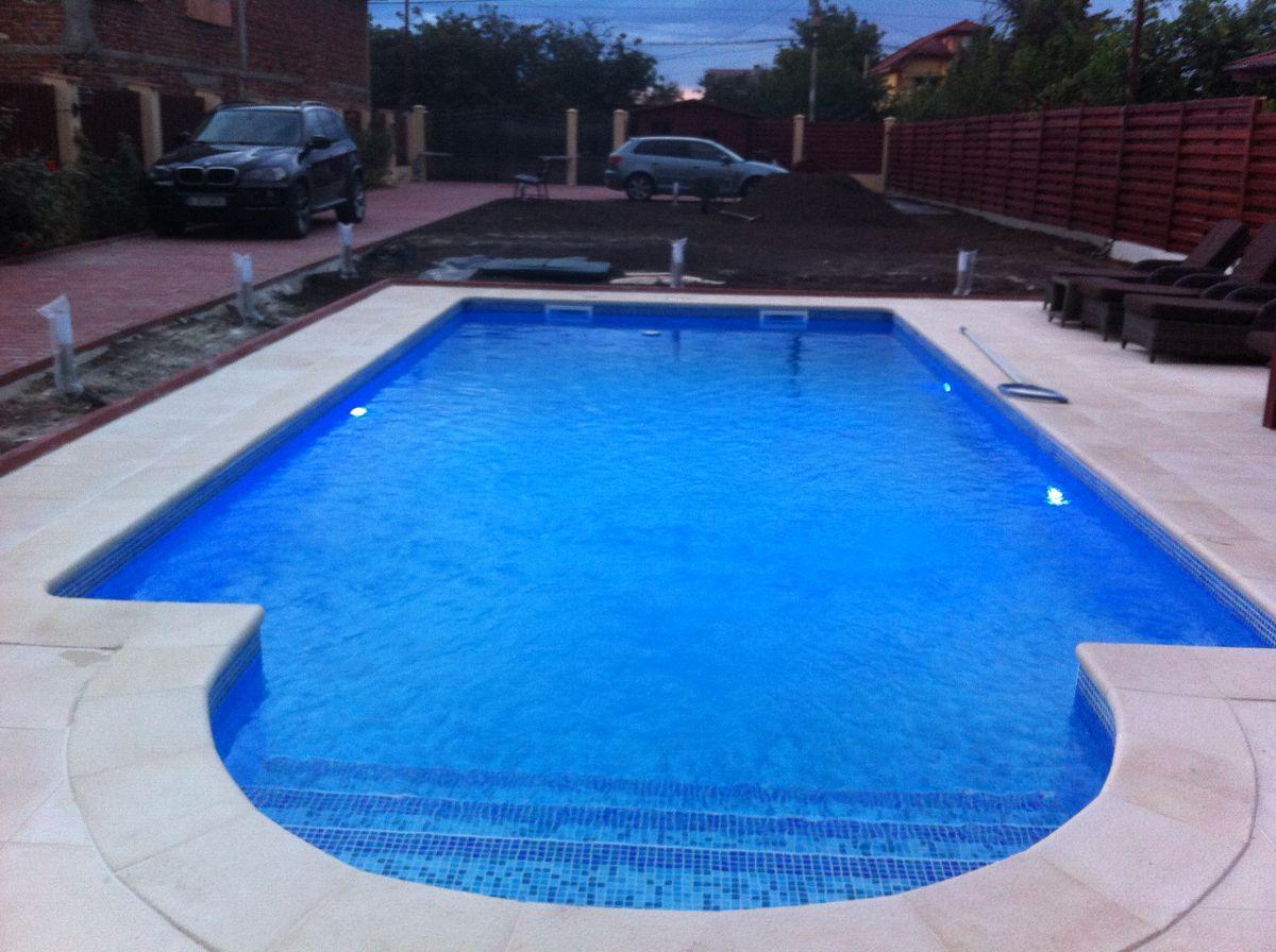 Constructia piscinei margarita tunari ilfov for Aqua piscine