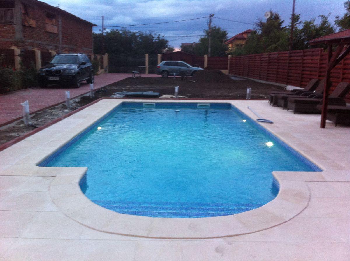 Constructia piscinei margarita tunari ilfov for Constructii piscine
