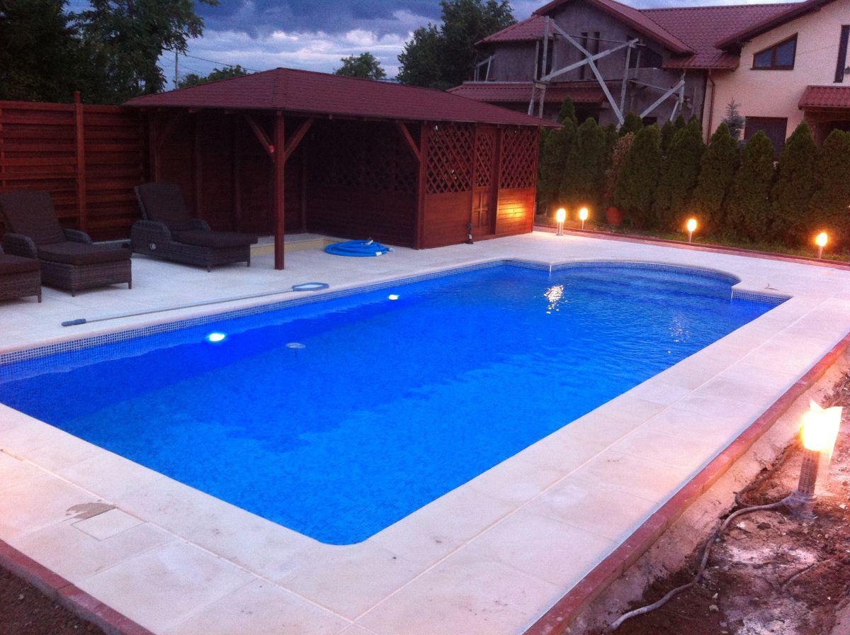 Constructia piscinei margarita tunari ilfov for Construim piscine